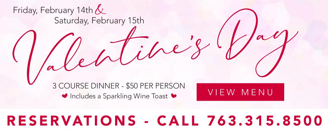 2020 Brooklyn Valentines Menu
