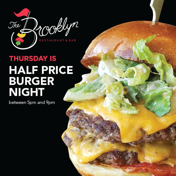 Brooklyn Half Price Burger Thursdays